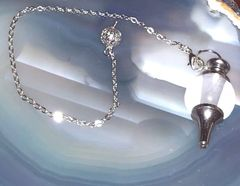 Powerful Spirit Communication Spell Cast Pendulum - Accurate Predictions and Unbound Protection - Popular Clear Quartz