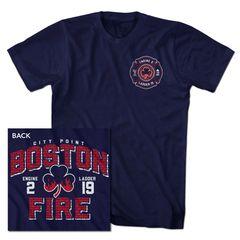Boston Fire Brickhouse Tee