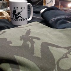 CCTactics Classic Package. 1 Tshirt and 1 Coffee Mug
