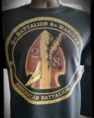 2nd Battalion 8th Marine Division Battalion Shirt America's Battalion