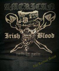 American Irish Blood St Patrick's Shirt