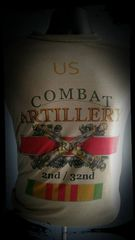 Combat Arti Shirt Vet Style Custom
