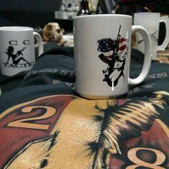 CC Tactics AK 47 Coffee Mug. 15 ounces of tactical freedom