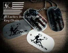CCTactics Dog Tag Style Key Chain