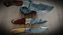 Damascus Tracker Set. Exclusive Package.