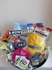 First Half Marathon Runner Gift Basket
