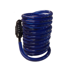 DocksLocks - 10ft Coiled Cable
