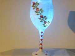 Rose Vine Votive Holder