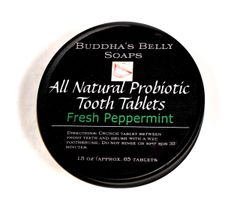 All Natural Probiotic Toothpaste Tablets