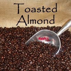 Toasted Almond Fresh Roasted Gourmet Flavored Coffee