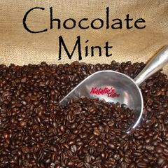 Chocolate Mint Fresh Roasted Gourmet Flavored Coffee