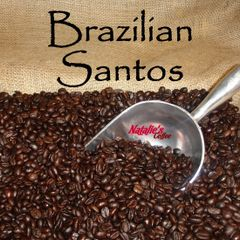 Brazilian Santos Fresh Roasted Gourmet Coffee 12 oz bag