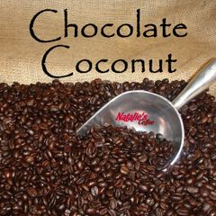Chocolate Coconut Fresh Roasted Gourmet Flavored Coffee