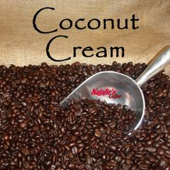 Coconut Cream Fresh Roasted Gourmet Flavored Coffee