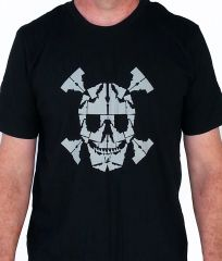 Mens Idaho Skull T-shirt