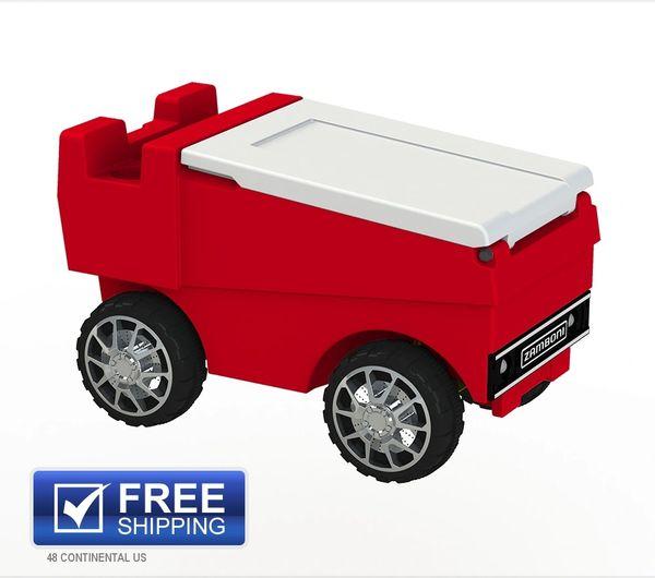 Rc Zamboni Red C3 Custom Coolers
