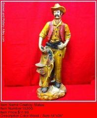 Cowboy Statue - #1530G