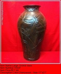 Large Orchid Vase - #1500F