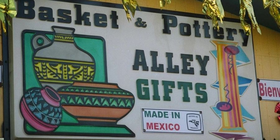 Basket and Pottery Alley
