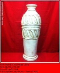 Serpentine Vase - #1504E