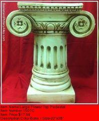 lLarge Flower Top Pedestal - #1507C