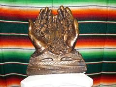 Lg Praying Hands Copper - #7274