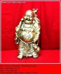 Medium Standing Buda - #1511T