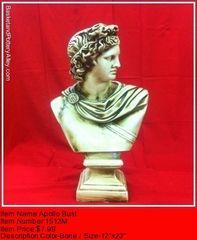 Apollo Bust - #1512M