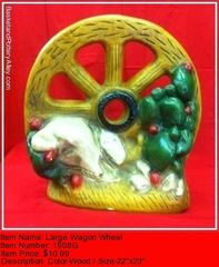 Large Wagon Wheel - #1508G