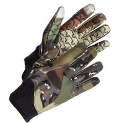 Non Typical Bow Glove Size L Green Deception