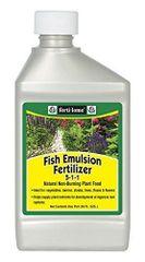 Fertilome Concentrate Fish Emulsion Fertilizer, Quart or Pint