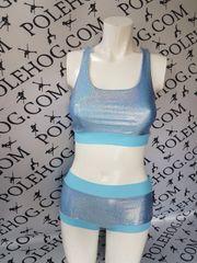 Princess blue diamond dust top.