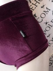 Grape smooth (full) high waisted panel pant