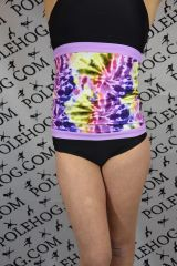 Pastel tie dye backwarmer