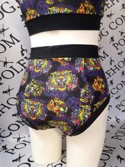 oriental tiger (full) high waisted fitted pant