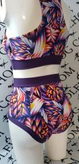 Phoenix of the night (full) high waisted fitted pant