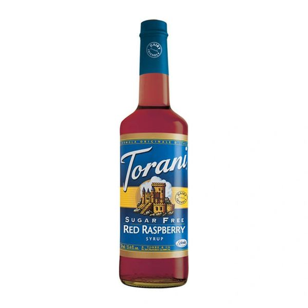 Torani Red Raspberry Sugar Free Dairy Friendly Syrup