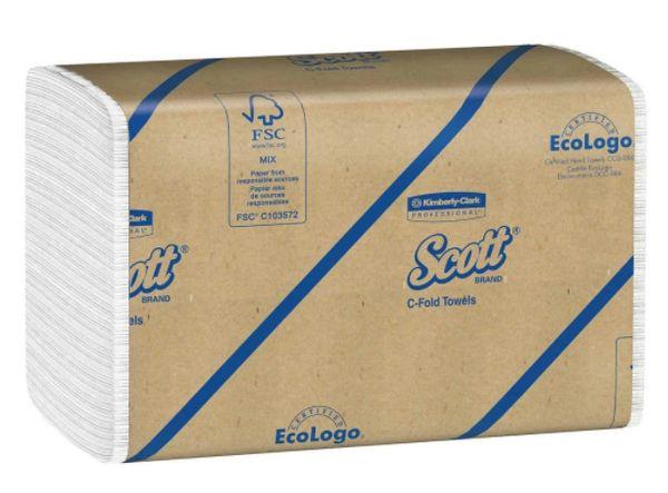 SCOTT® C-FOLD TOWELS
