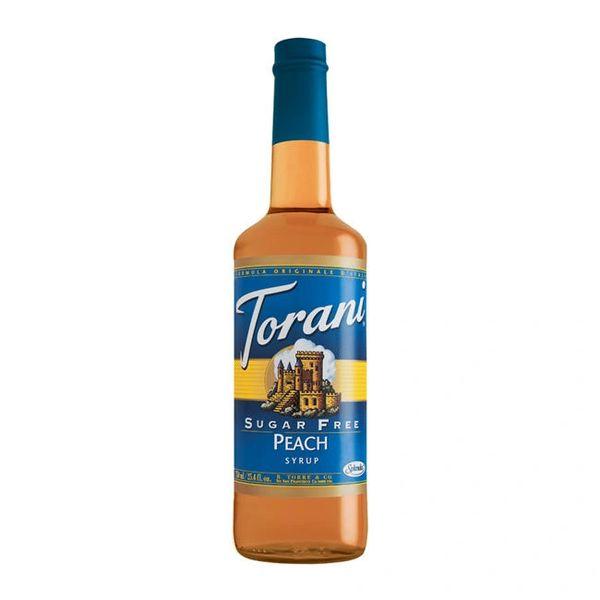 Torani Peach Syrup Sugar Free