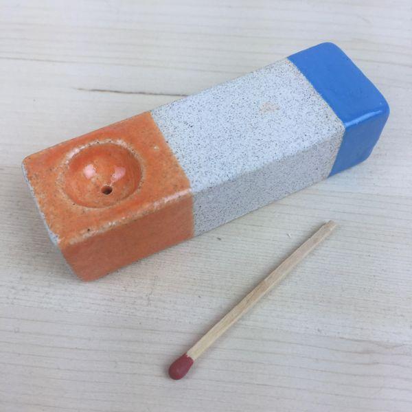 orange blue pipe