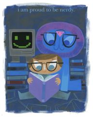 I Am Proud To Be Nerdy poster