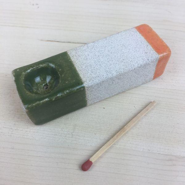 green orange pipe