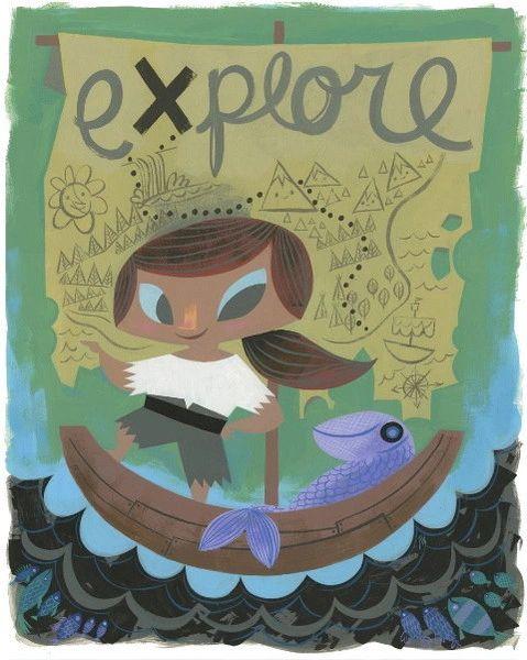 Explore poster