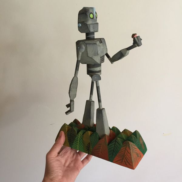 Iron Giant- Forest Walk-SOLD