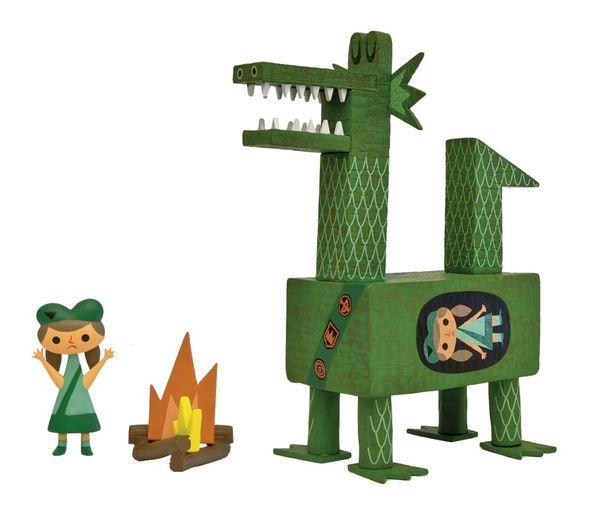 dragon scout vinyl toy