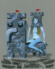 Castle Armor print