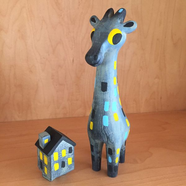 Big City Giraffe