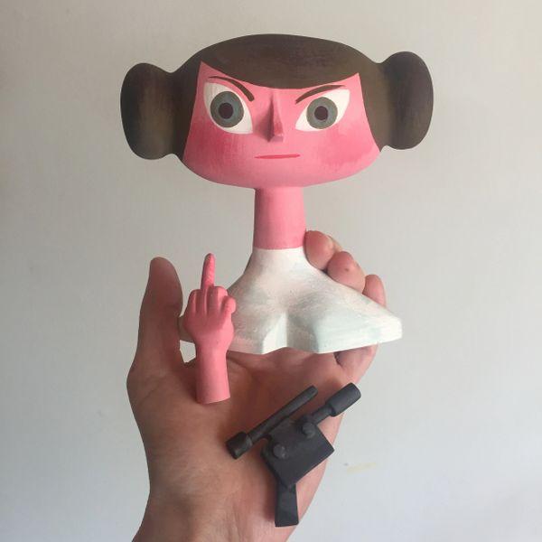 f*ck off Leia