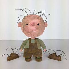 Pig Pen original sculpture