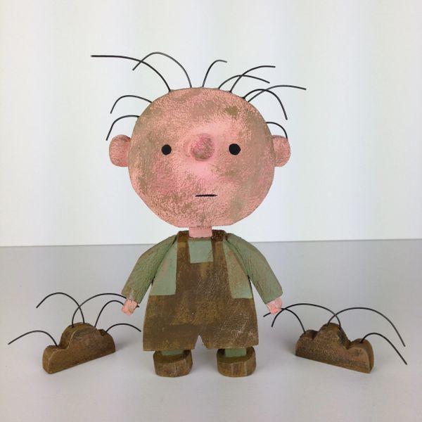 Pig Pen original sculpture